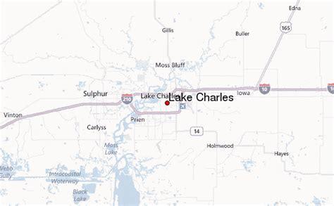 louisiana map lake charles lake charles location guide