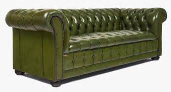 vintage green leather chesterfield sofa jean marc fray