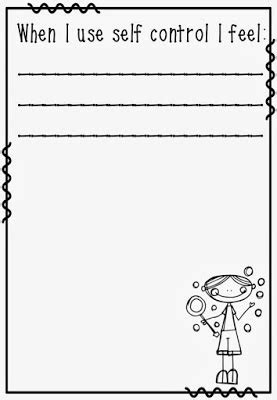 self control worksheets love laughter and learning in prep back to school