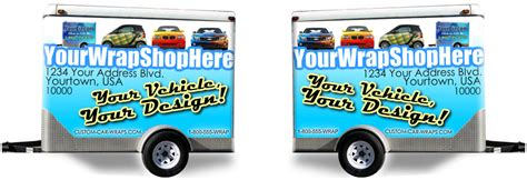 Wrap Shop Template Trailer Wrap Designed By Bobby Mcgee Design Your Own Trailer Wrap Trailer Wrap Design Templates