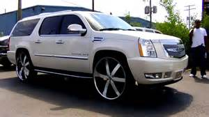 Cadillac Escalade On 30s Cadillac Escalade Esv On 30 S