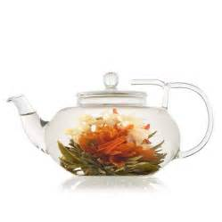 Lotus Dreams Tea Lotus Flowering Tea Gift Set With Glass Teapot By The