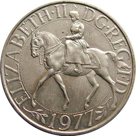 25 new pence elizabeth ii silver jubilee united