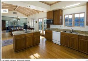 open floor plan kitchen dining living traditional