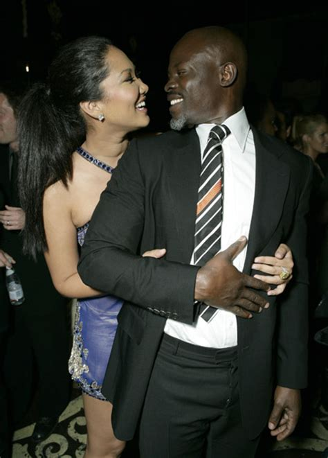 Kimora Simmons New Boyfriend Dijimon Hounsou by 2008 March 09 171 Media Outrage