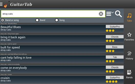 how to tabs on android phone guitartab tabs and chords android apps on play