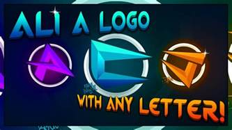 how to make a logo like ali a part 2 covering all