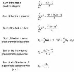 Arithmetic And Geometric Sequence Worksheet by Using Algebra To Find The Sums Of Sequences Algebra Can