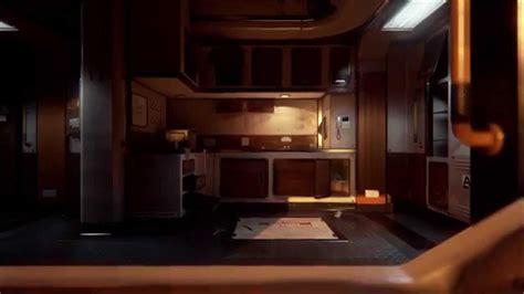 unreal engine 4 sci fi bunk room video flythrough