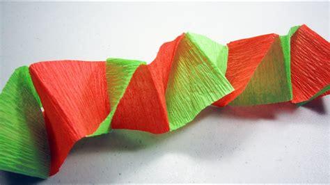 imagenes de cadenas de papel crepe c 243 mo hacer un banderin o decoraci 243 n para fiestas con papel
