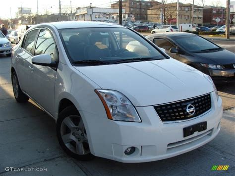 white nissan sentra 2008 2008 fresh powder white nissan sentra 2 0 s 77270767