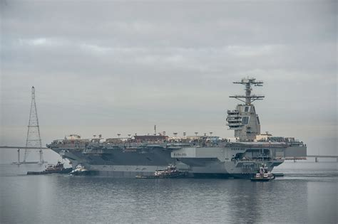 gerald r ford cvn 78 naval open source intelligence 21st century aircraft
