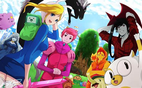 wallpaper anime adventure time free anime wallpapers wallpaper cave