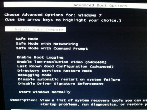 window screens windows 7 safe mode black screen how to enable safe mode in windows 7 pcworld