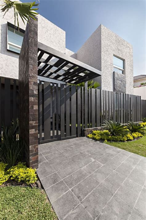 Modern Gate Design For House | newest modern house design ideas home exterior decorating