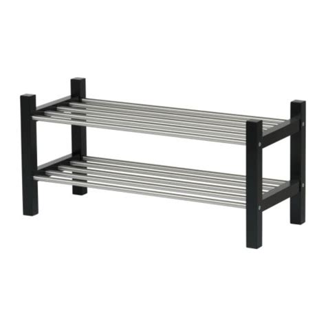 Shoes Rack Ikea by Tjusig Shoe Rack Black Ikea