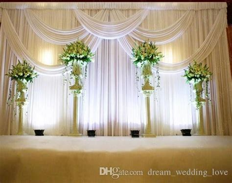 3*6m Wedding Swags Drapes Party Background Party