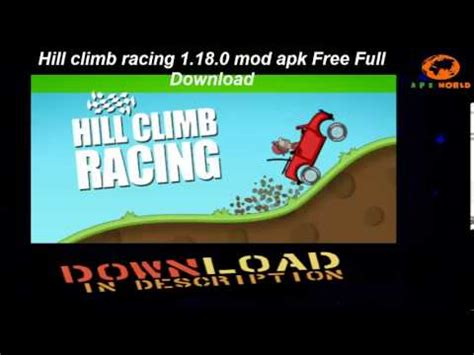 download mod game hill climb racing hill climb racing 1 18 0 mod apk free full download youtube