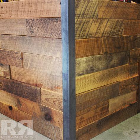 wall wood corner  metal reclaim renew