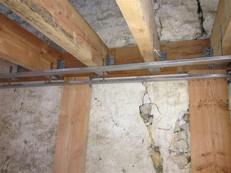 Plaque De Plafond 6960 by R 233 Aliser Un Plafond En Plaque De Pl 226 Tre Sur Rail