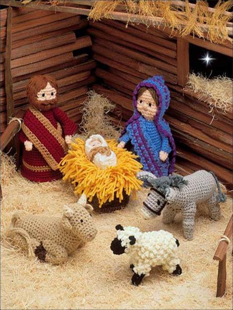 crochet pattern nativity scene crochet creche
