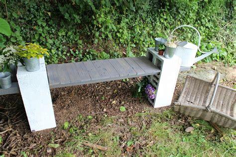 Bricolage Palette Jardin by Bricolage Facile Faire Soi M 234 Me Un Banc R 233 Cup Pour Le