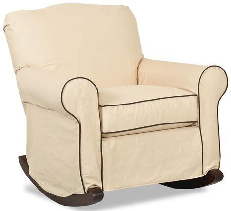 Rocking chair covers wingback chair rocker image permalink new glider rocker cushions stunning