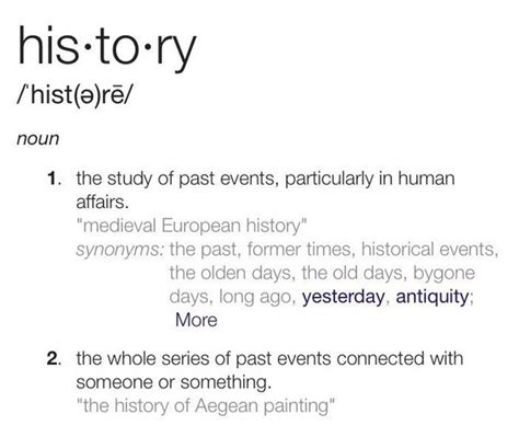 historic meaning what is the definition of history quora