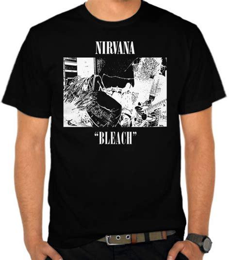 Kaos Nirvana 2 jual kaos band nirvana 2 nirvana satubaju
