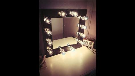 Diy Vanity Light Mirror by Diy Makeup Mirror With Lights