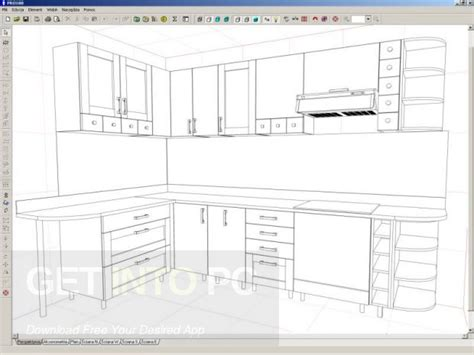 Kitchen Interior Design Software Kitchen Drawing Software Free