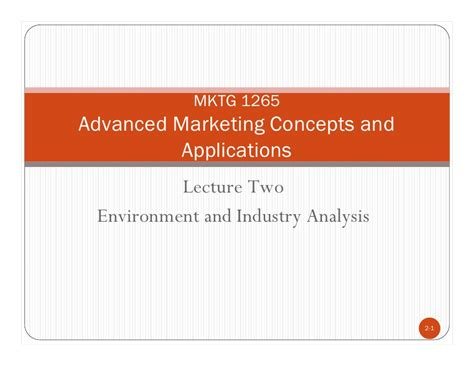 Mba Marketing Lecture Notes by Softwareprestige