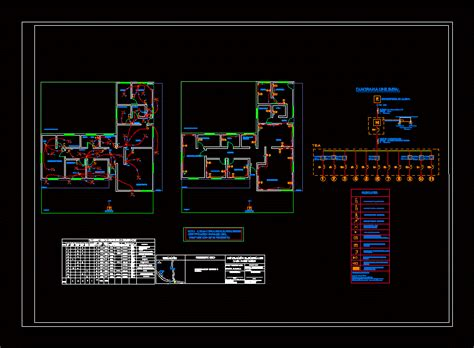 house plan electrical room dwg plan  autocad designs cad