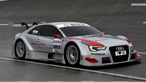 audi racing 2012 audi a5 dtm on race course wallpaper