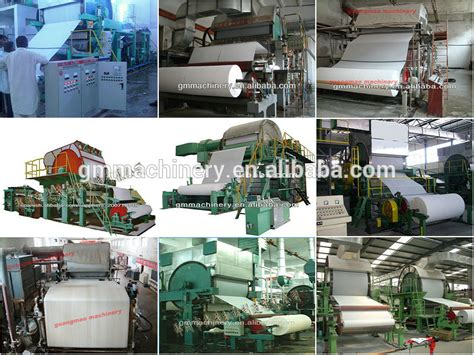 Toilet Paper Machine Prices - low cost 1tpd toilet paper machine price of 787mm