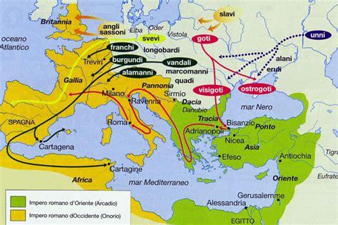 mappa concettuale l impero austro ungarico e europa il v secolo e la caduta capitolivm
