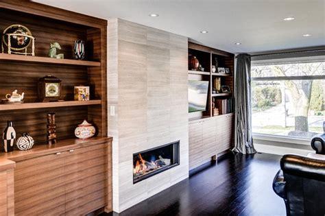 Parkwoods Home Contemporary Family Room Toronto by Bravehart Design Build