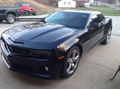 2010 camaro 2ss rs package 2010 chevrolet camaro ss 2ss 6 2l v8 rs package black