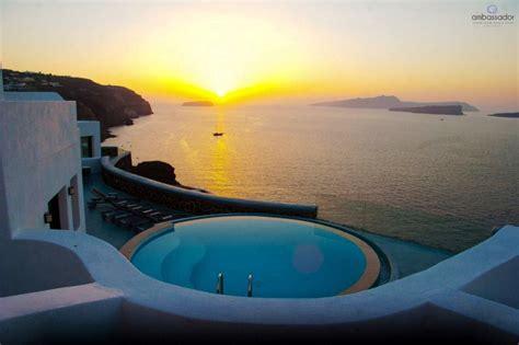 best luxury hotel santorini top 10 santorini hotels with pool