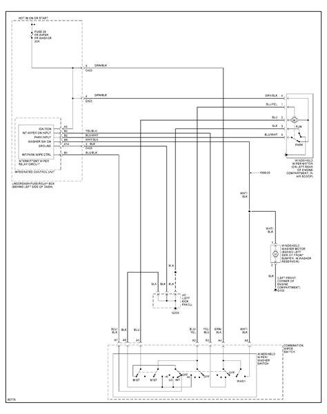 honda civic wiper wiring diagram honda civic wiper wiring diagram honda odyssey wiring