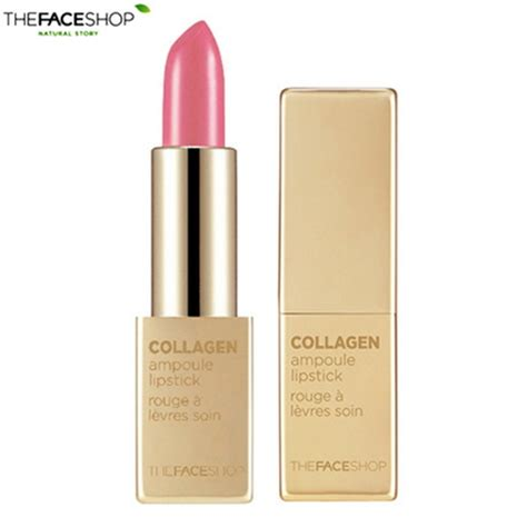 Lipstick Collagen box korea the shop collagen oule lipstick 3 5g best price and fast shipping
