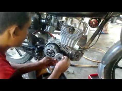 Karet Kopling Karet Rumah Kopling Grand Supra bongkar dan pasang karet kopling sendiri tanpa ketukang