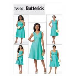 B5461 misses women s dress evening butterick patterns