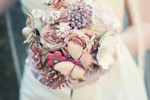 Wedding bouquets silk flowers the bride guide
