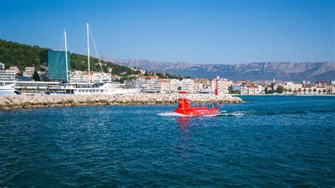 semi submarine boat semi submarine tour split boat trips one day excursions
