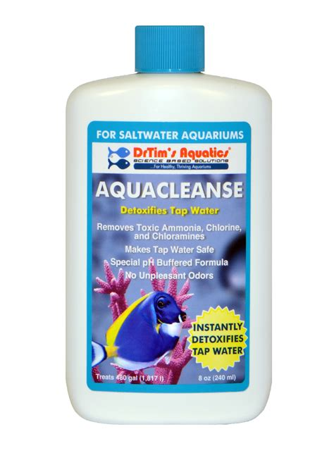 Detox Ammonia From by Aquacleanse Tapwater Detoxifier For Saltwater Aquaria