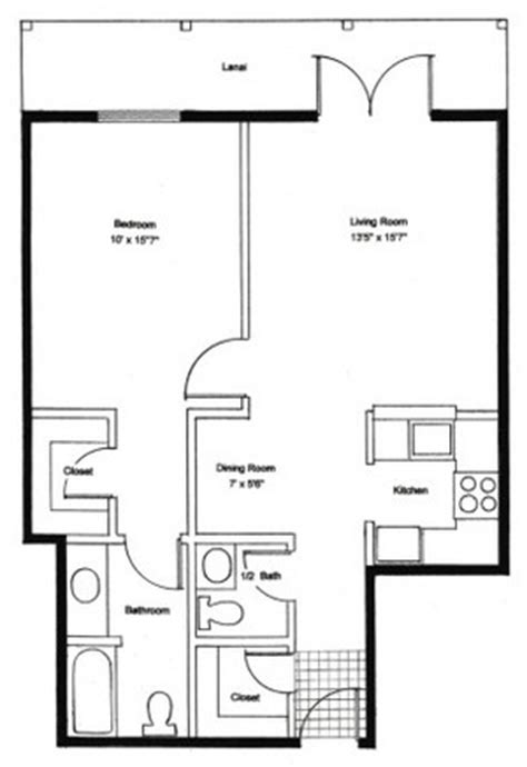 Backyard Apartment Floor Plans by Types Of Apartments In Nyc Streeteasy