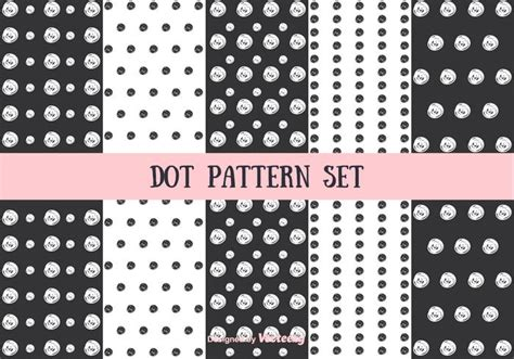 dot pattern system dot pattern vector set download free vector art stock