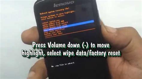 reset battery laptop lenovo how to factory reset lenovo lenovo a369i hard reset youtube