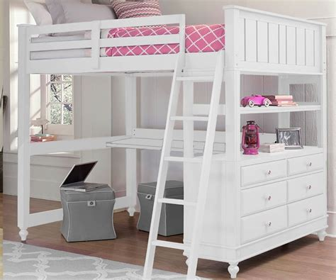 full size bunk beds for kids bedroom full size loft bed with desk for sale white